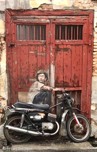 Boy on the Motorcycle