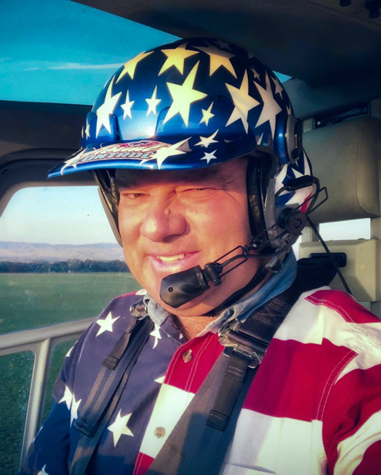 Ag Pilot Andy Stein.  Photo by Andy Stein