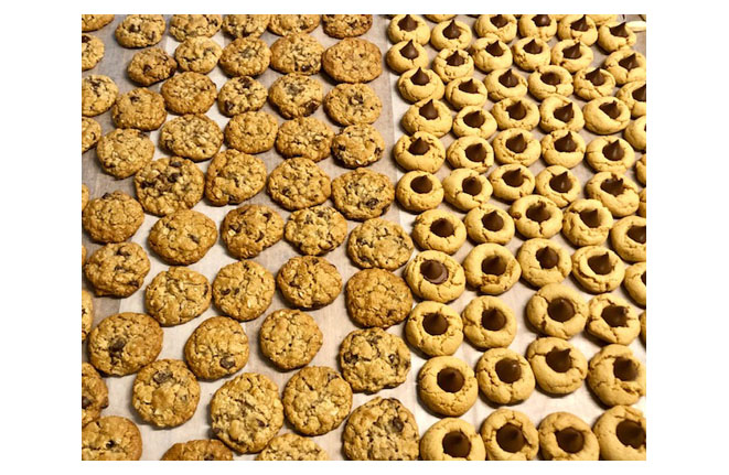 Oatmeal and Peanut Butter Blossoms