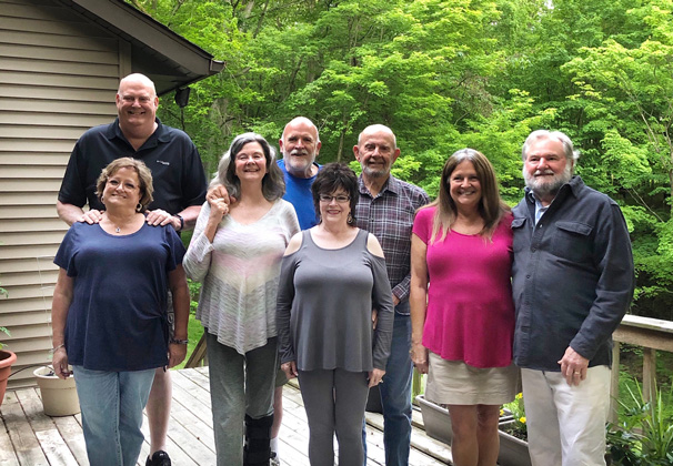 3rd generation:  (Mark's parents) Bill and Linda Tos, (aunt) Lynell and Bruce Hizen, (uncle) John and Victoria Tos, (aunt) Sylvia and Bill Stouten