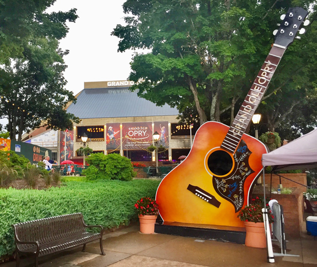 Front entrance to the Grand Ole Opry