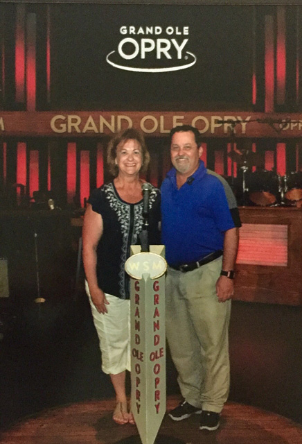 If you take the Backstage tour, you will have the opportunity to stand on the famous circle on the Grand Ole Opry Stage.